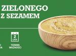 Puree z zielonego groszku z sezamem